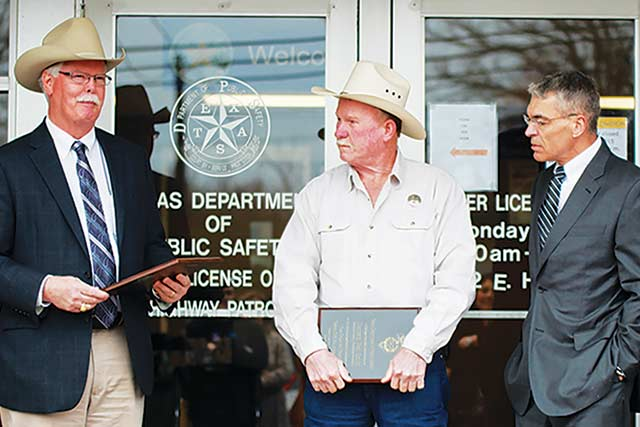 Texas DPS Director Praises Houston County