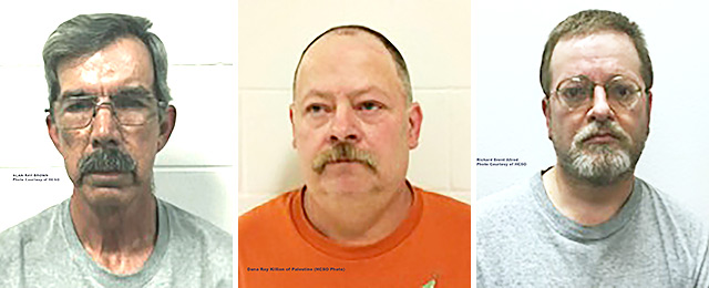 Three Charged In Houston County