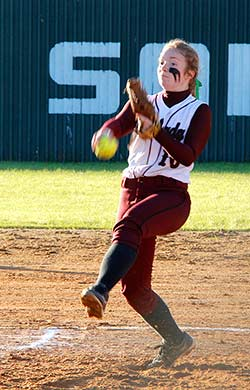 Lovelady freshman Sydney Price earned the title of District 20-A Newcomer of the Year.